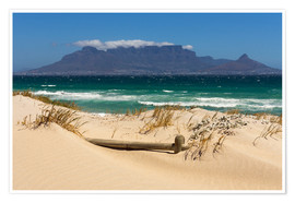 Poster Premium  Cape Town, Bloubergstrand - Catharina Lux