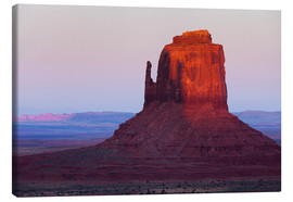 Stampa su tela  Monument Valley at sunset - Rainer Mirau
