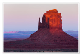 Poster Premium  Monument Valley at sunset - Rainer Mirau
