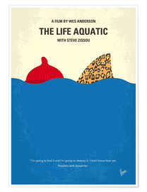 Poster Premium The Life Aquatic with Steve Zissou (Le avventure acquatiche di Steve Zissou)