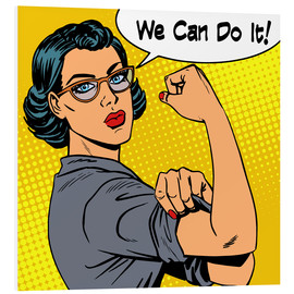 Forex  We can do it! popart