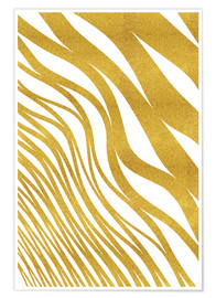 Poster Golden Wave
