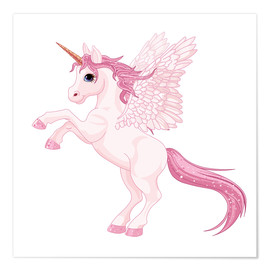 Poster Premium  Il mio unicorno - Kidz Collection