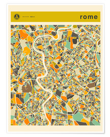 Jazzberry Blue - ROME MAP