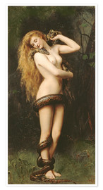 Poster Premium  Lilith - John Collier