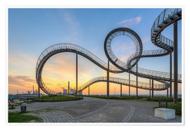 Poster Premium  Tiger and Turtle Duisburg - Michael Valjak