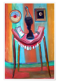 Poster Premium Table with teeth