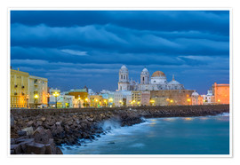 Poster Premium Cadiz Evening Mood