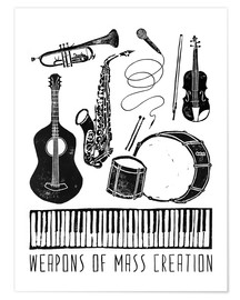 Poster Premium  Weapons Of Mass Creation - Music - Bianca Green