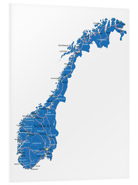 Schiuma dura  Map Norway