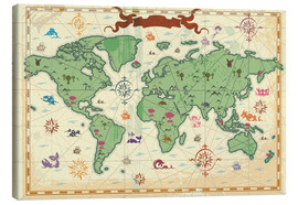 Kidz Collection - treasure map