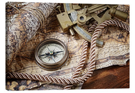 Stampa su tela  Seafaring equipment