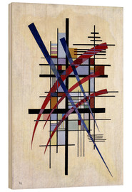Legno  Sign with accompaniment - Wassily Kandinsky