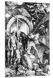 Schiuma dura  The Harrowing of Hell or Christ in Limbo, from The Large Passion - Albrecht Dürer