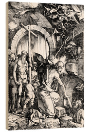 Stampa su legno  The Harrowing of Hell or Christ in Limbo, from The Large Passion - Albrecht Dürer