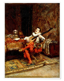 Poster Premium The Lute Player