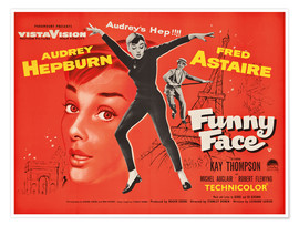 Poster  Funny Face - English School