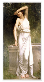 Poster Premium A Classical Beauty by a Well