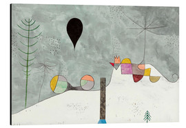 Stampa su alluminio  Winter Picture - Paul Klee