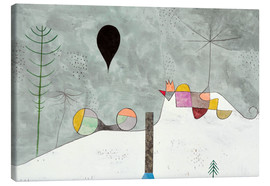 Stampa su tela  Winter Picture - Paul Klee