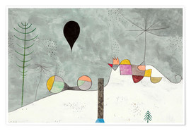 Poster Premium  Winter Picture - Paul Klee
