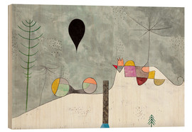 Stampa su legno  Winter Picture - Paul Klee