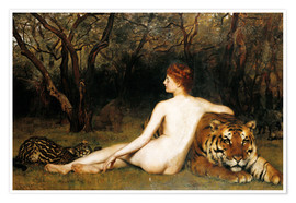 Poster Premium  Circe, 1885 (oil on canvas) - John Collier