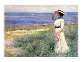 Poster  Looking out to Sea - Paul Fischer