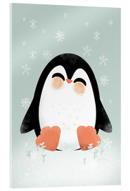 Vetro acrilico  Animal Friends - The Penguin - Kanzi Lue