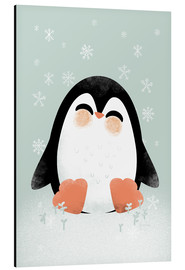 Alluminio Dibond  Animal Friends - The Penguin - Kanzi Lue