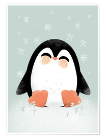 Poster  Animal Friends - The Penguin - Kanzi Lue