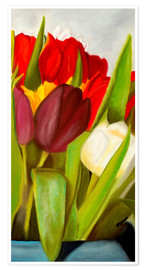 Poster Premium Cheerful spring colors