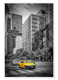 Poster Premium  CHICAGO North Michigan Avenue - Melanie Viola
