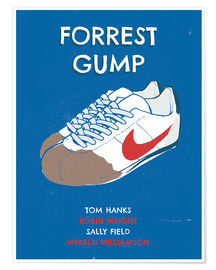 Poster Premium alternative forrest gump sneakers art