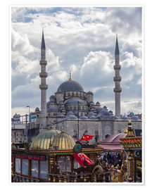 Poster Premium  A mosque in Istanbul