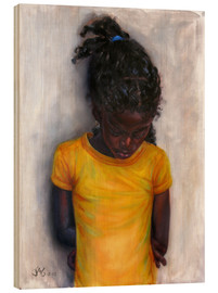 Legno  lexa with yellow shirt - Jonathan Guy-Gladding