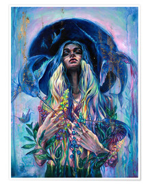 Poster  The Rustle of Narwhal's Wings - Tanya Shatseva