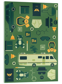 Stampa su vetro acrilico  Breaking Bad - Tracie Andrews