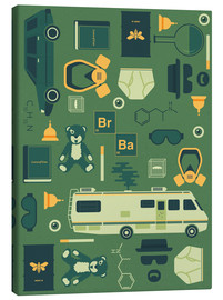 Stampa su tela  Breaking Bad - Tracie Andrews