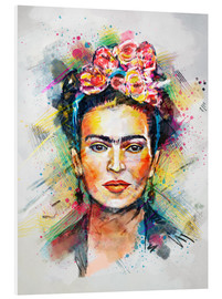 Stampa su schiuma dura  Frida Flower Pop - Tracie Andrews