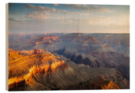 Stampa su legno  Sunrise of Grand Canyon South Rim, USA - Matteo Colombo