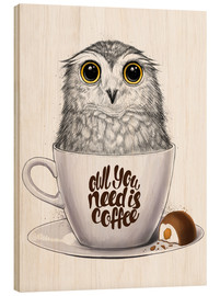 Legno  Owl you need is coffee - Nikita Korenkov