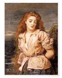 Poster Premium  The Martyr of the Solway - Sir John Everett Millais