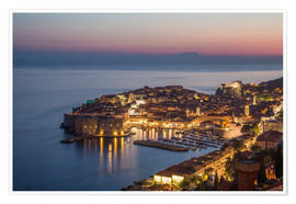 Poster Premium  Dubrovnik at Sunset - Mike Clegg Photography