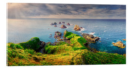 Stampa su vetro acrilico  New Zealand Nugget Point - Michael Rucker