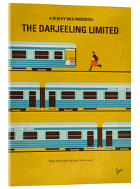 Vetro acrilico  No800 My The Darjeeling Limited minimal movie poster - chungkong