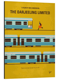 Alluminio Dibond  No800 My The Darjeeling Limited minimal movie poster - chungkong