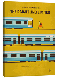 Tela  No800 My The Darjeeling Limited minimal movie poster - chungkong