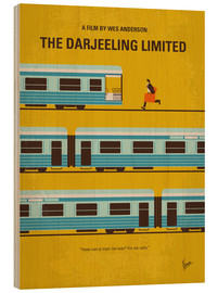 Legno  No800 My The Darjeeling Limited minimal movie poster - chungkong