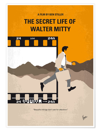 Poster Premium The Secret Life Of Walter Mitty